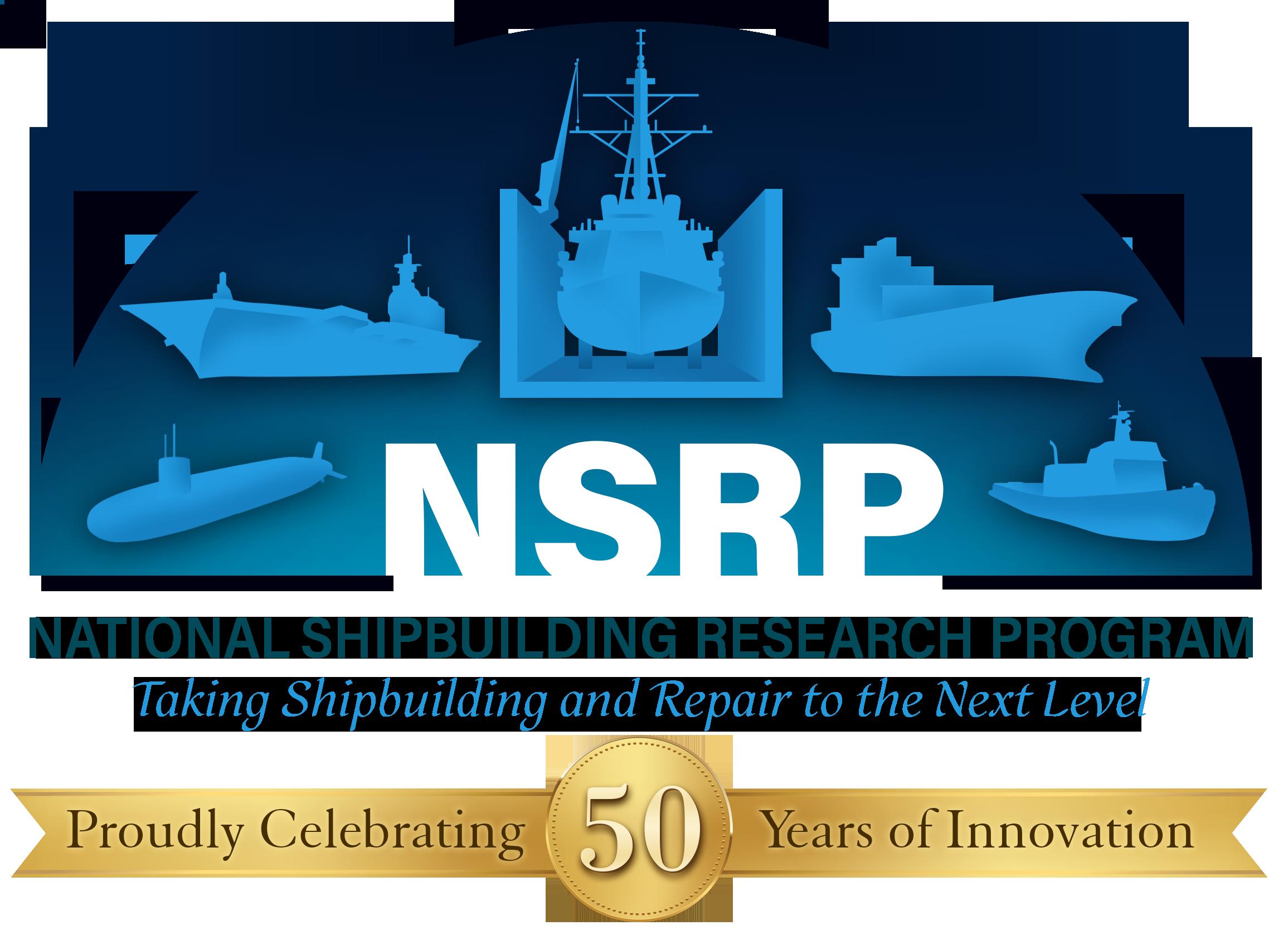 NSRP 50 year logo